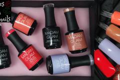 Madam-Glam-Revue-Swatch-Vernis-semi-permanent-Gelpolish-Roses-on-the-nails